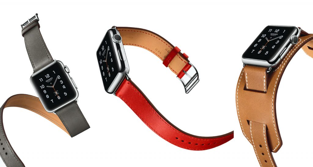 Bracelet Hermès en collaboration avec Apple Watch