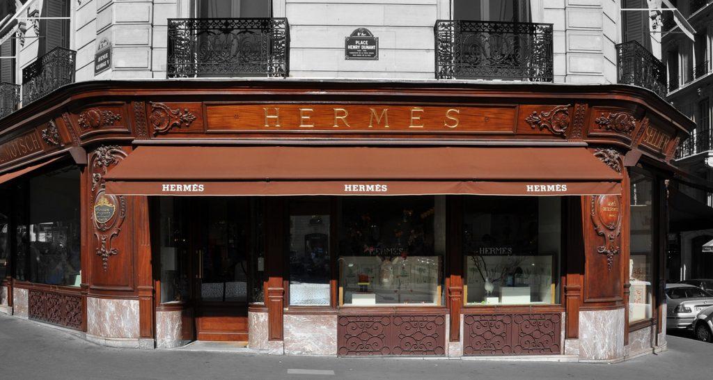 boutique Hermès, Faubourg Saint Honoré