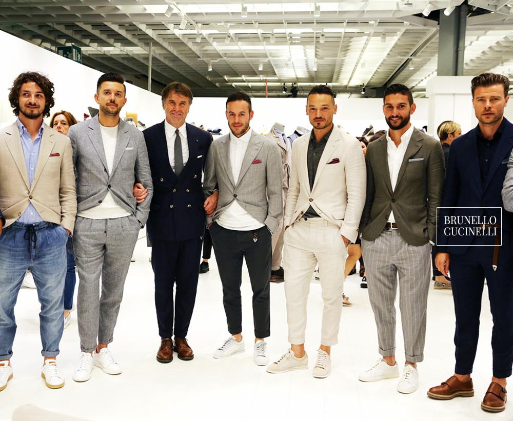 Brunello Cucinelli   un styliste et un entrepreneur italien qui a fondé une marque  italienne du secteur du luxe dans le prêt-à-porter hommes et femmes, ... 4f91eb1175d